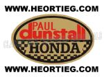Paul Dunstall Honda Tank and Fairing Transfer Decal DDUN5-5
